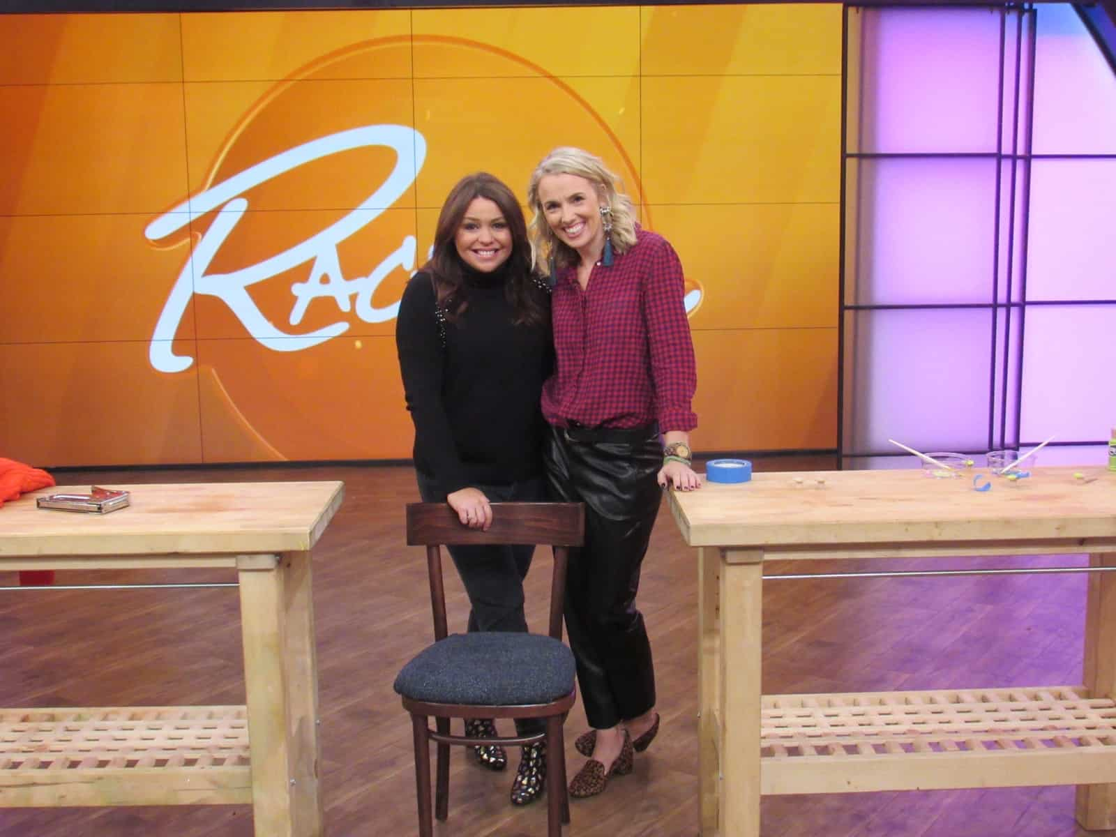 charlotte with Rachael Ray