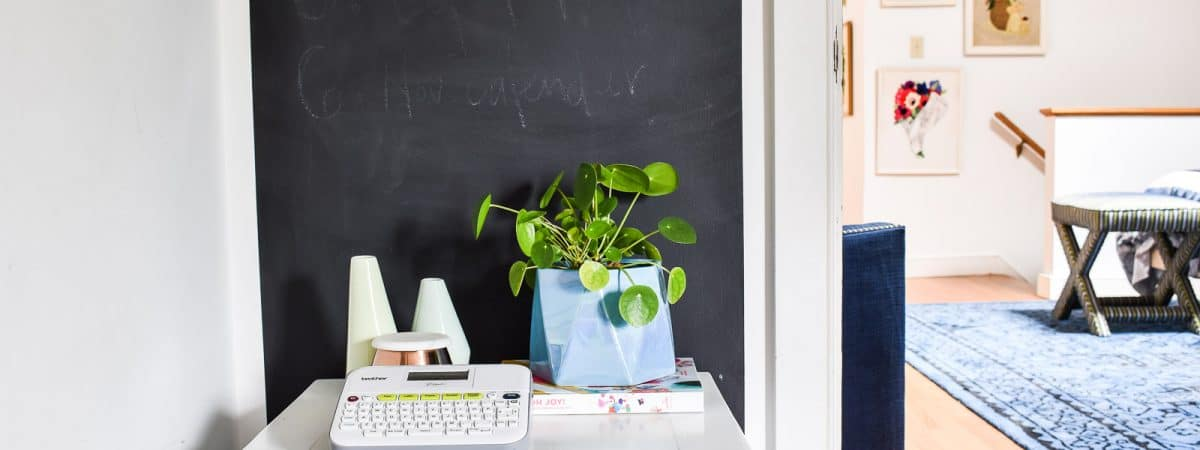 Painting the Perfect Chalkboard Wall