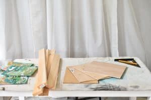 materials for wood frames