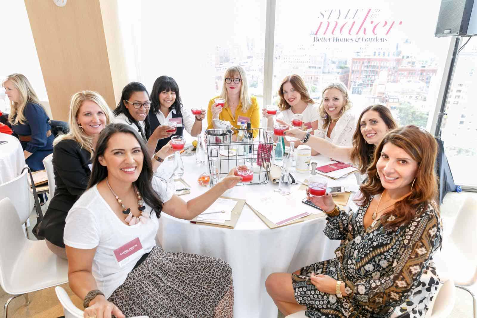 cocktails with BHG Stylemakers
