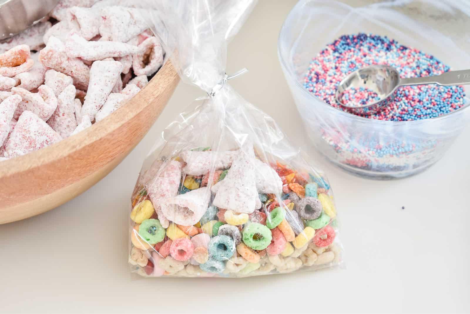 unicorn snack mix