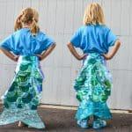 no sew mermaid tail
