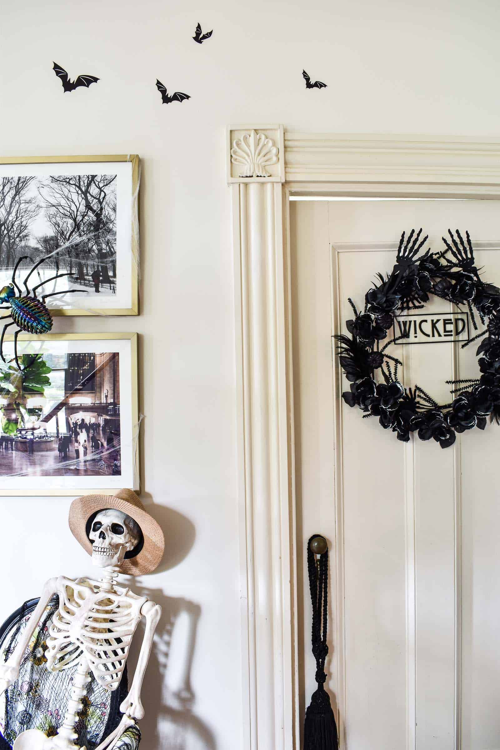 halloween wreath diy