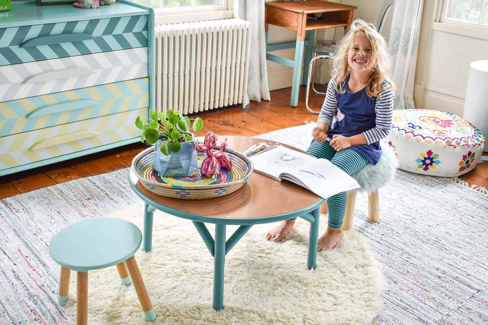 kids table makeover