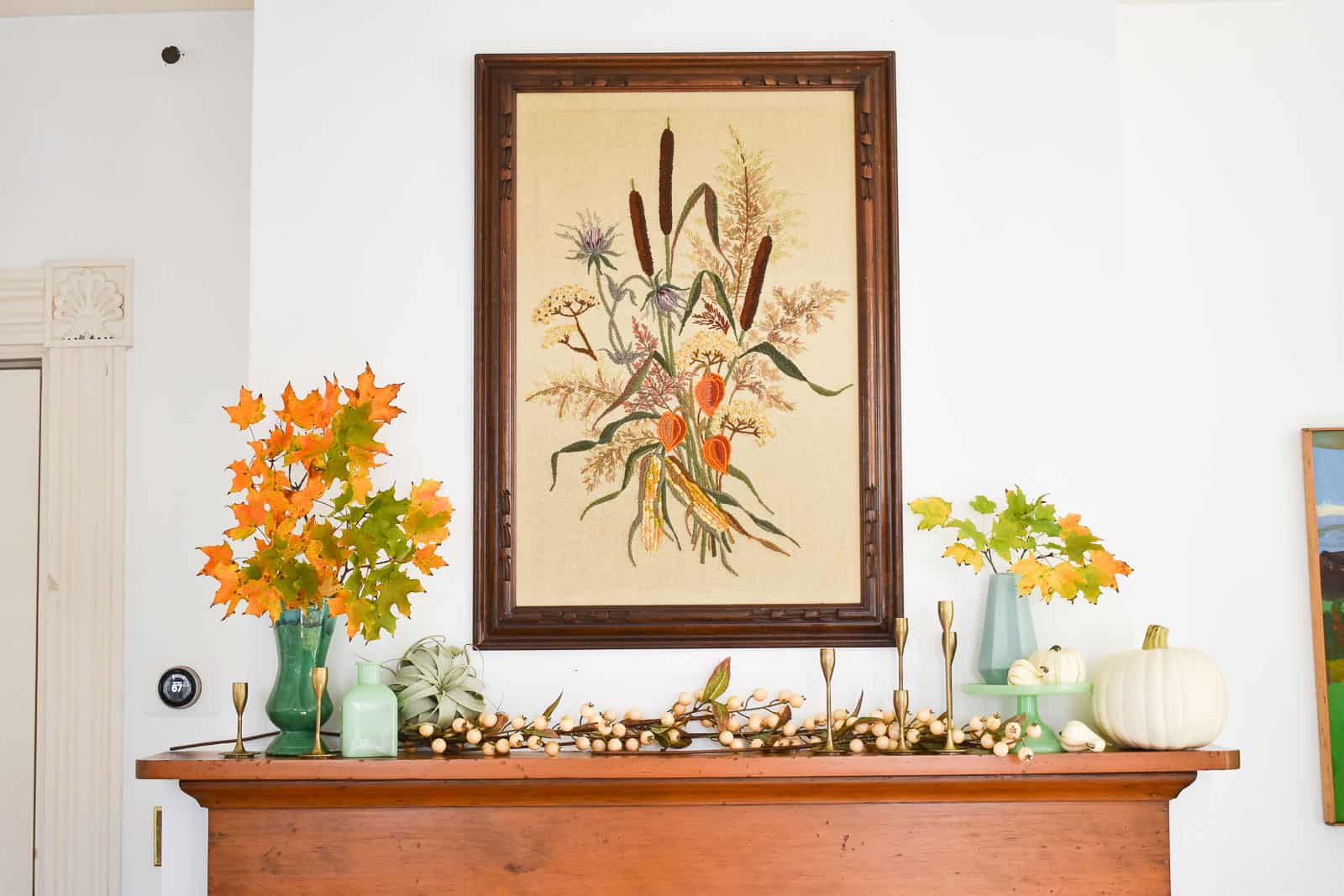 styling a perfect mantel
