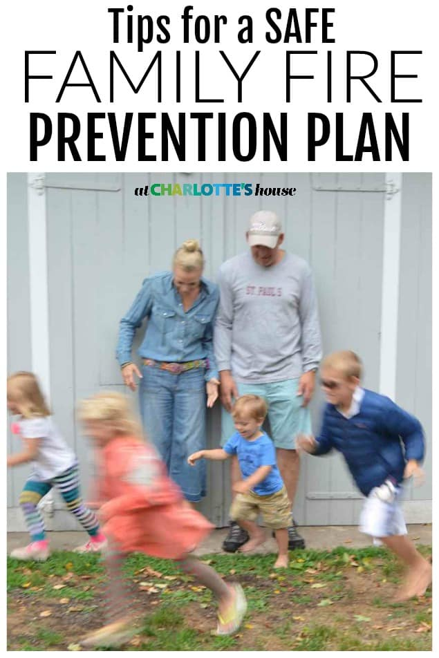 tips for a safe family fire protection plan