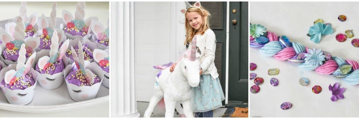 Kids Unicorn Birthday Party