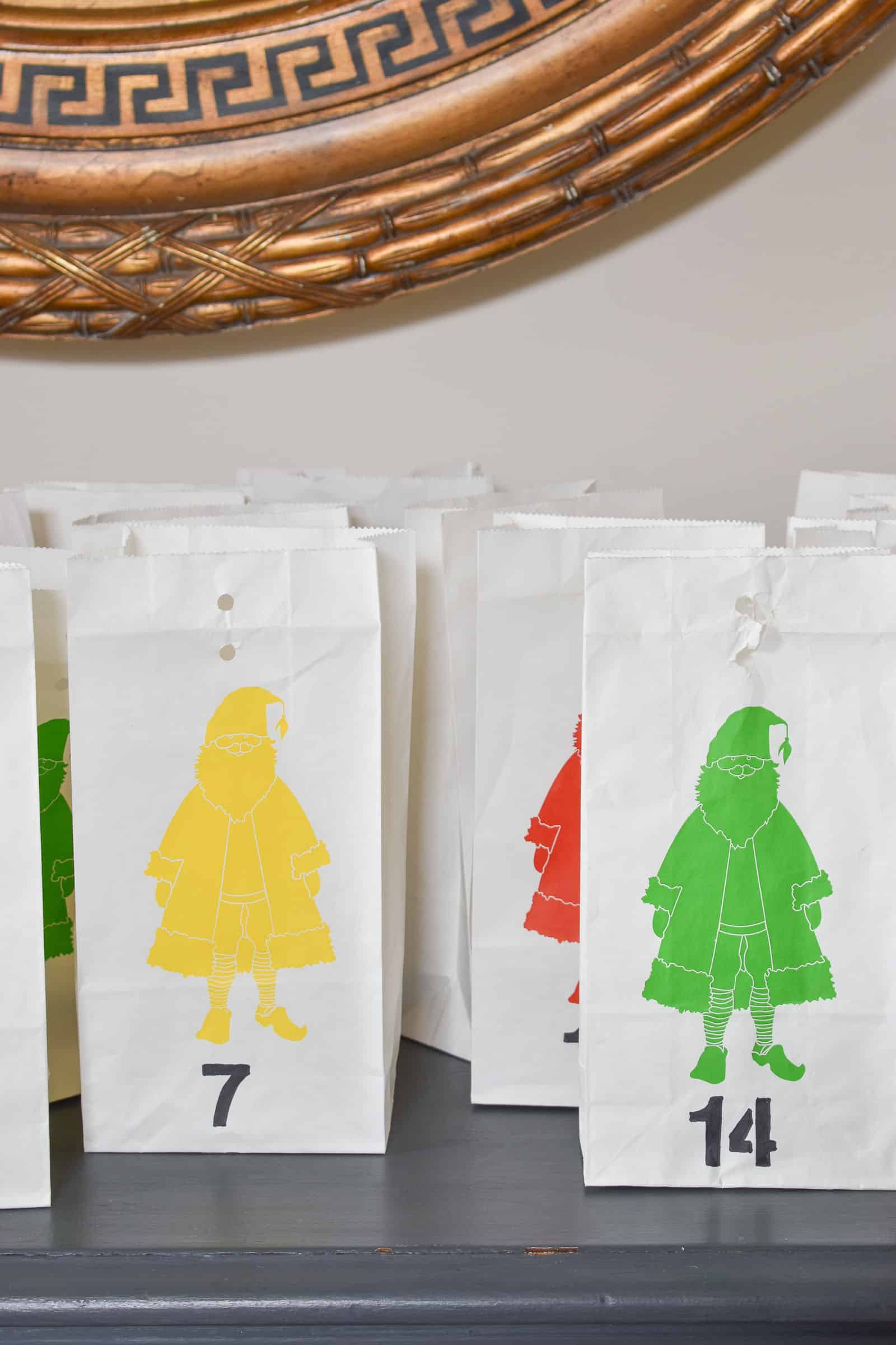 paper advent bags