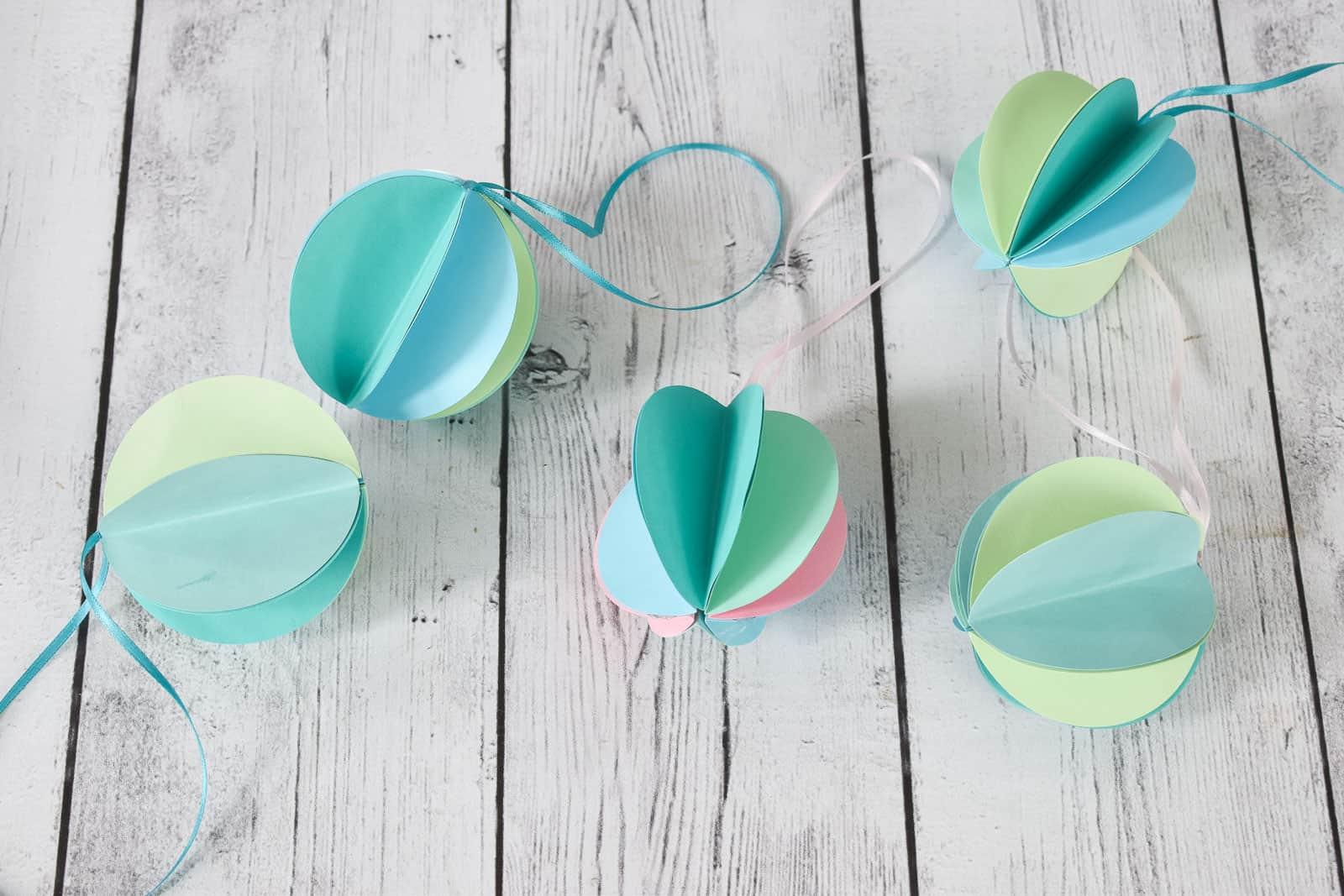 paper circle ornaments