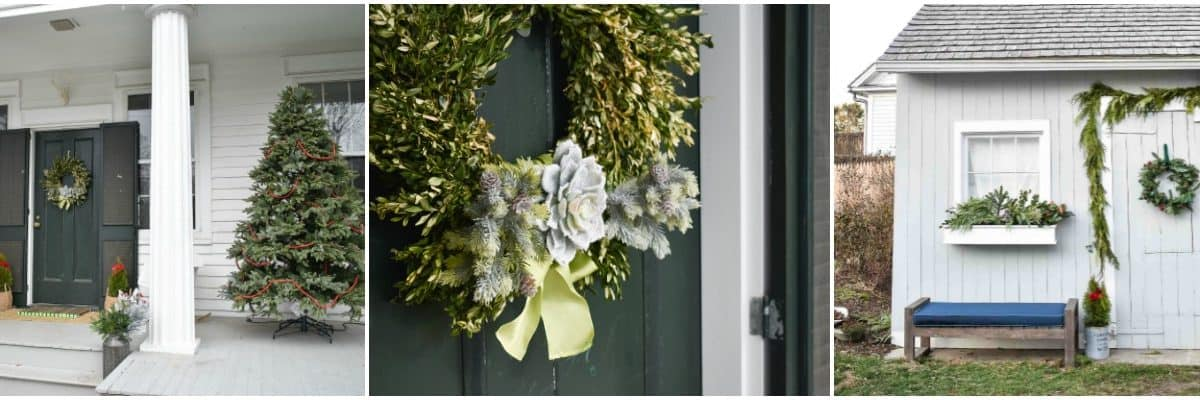 Simple Outside Holiday Decor