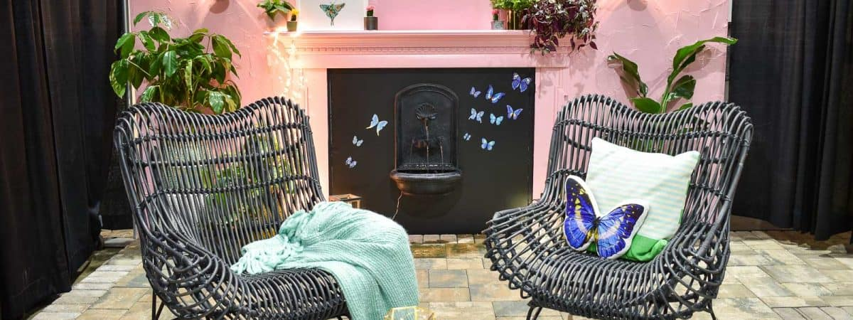 Philly Home Show Pink Backyard Space