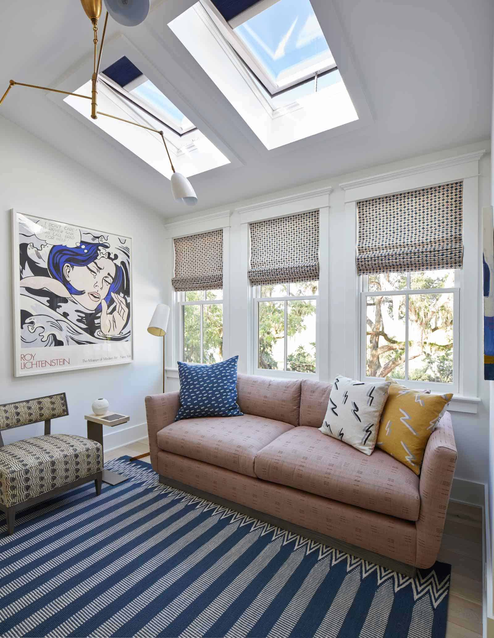 Velux skylights in dream home