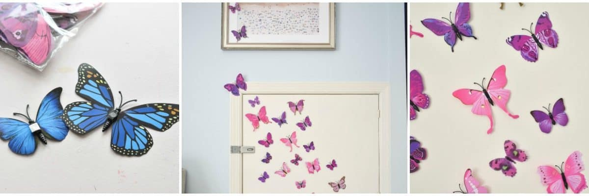 Butterfly Decor For A Girls Room