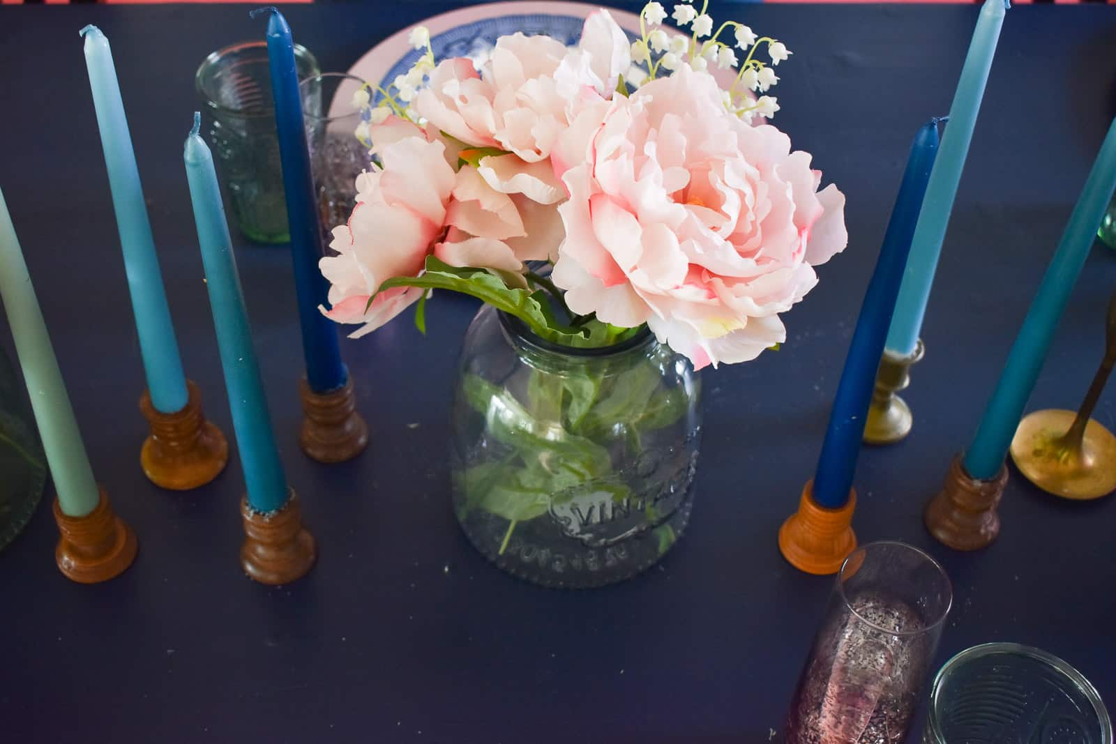 glass container for centerpiece