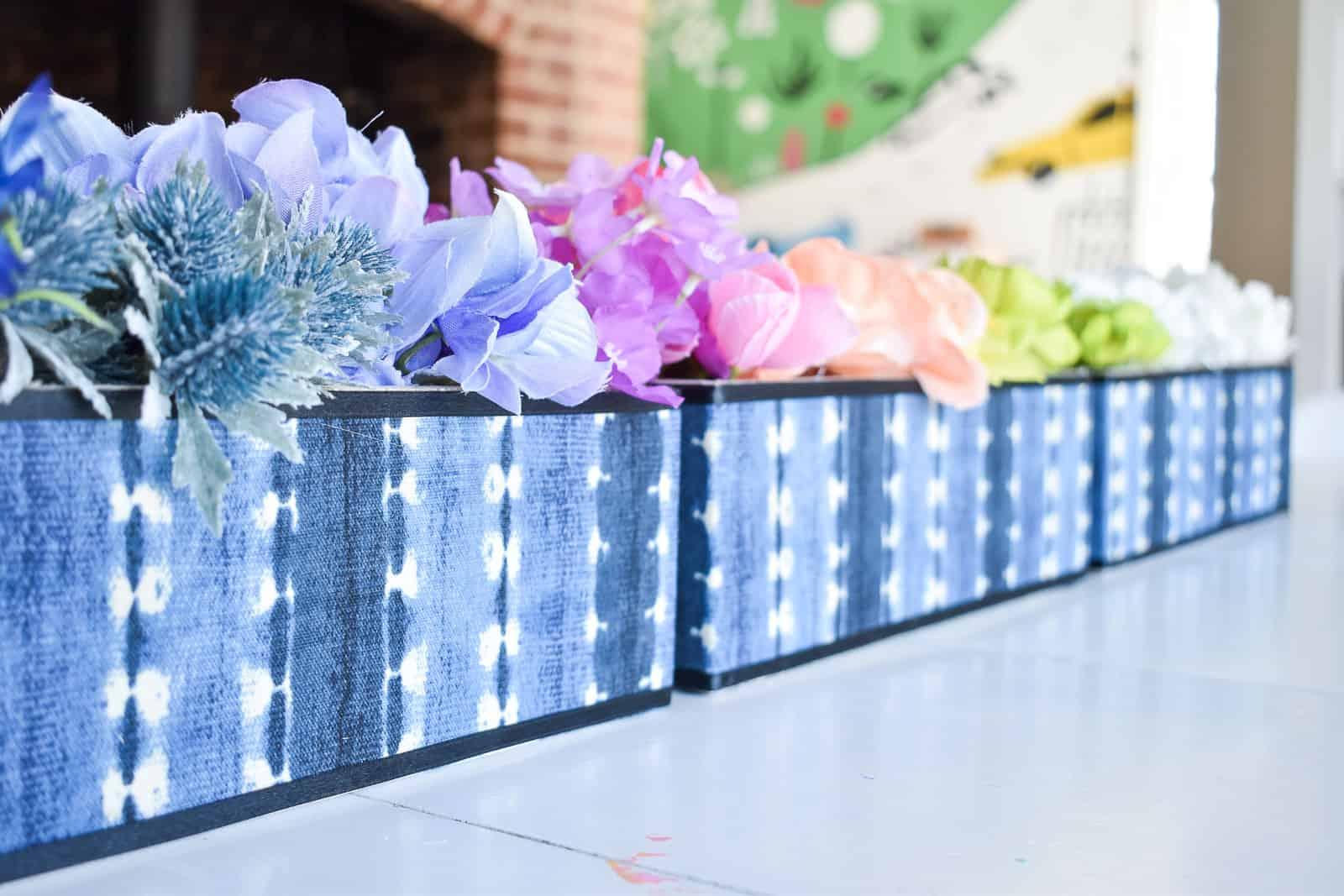 rainbow floral arrangement