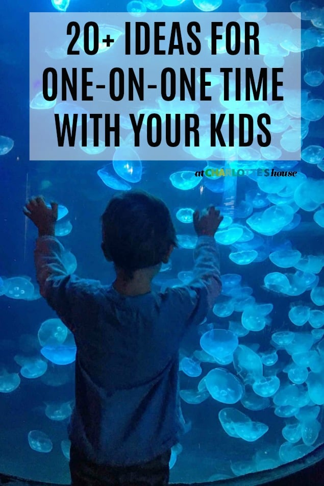 one on one time with kids