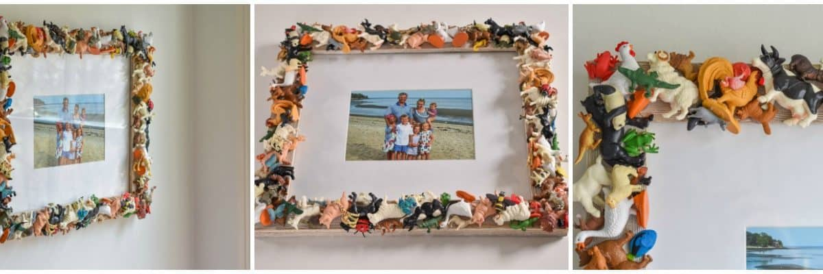 Toy Animal Picture Frame