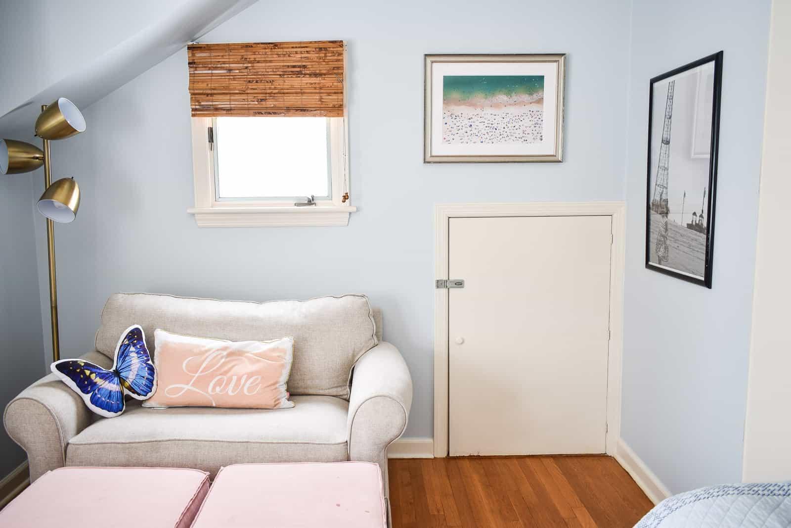 Eleanor's room before butterflies
