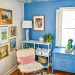 bold eclectic office reveal