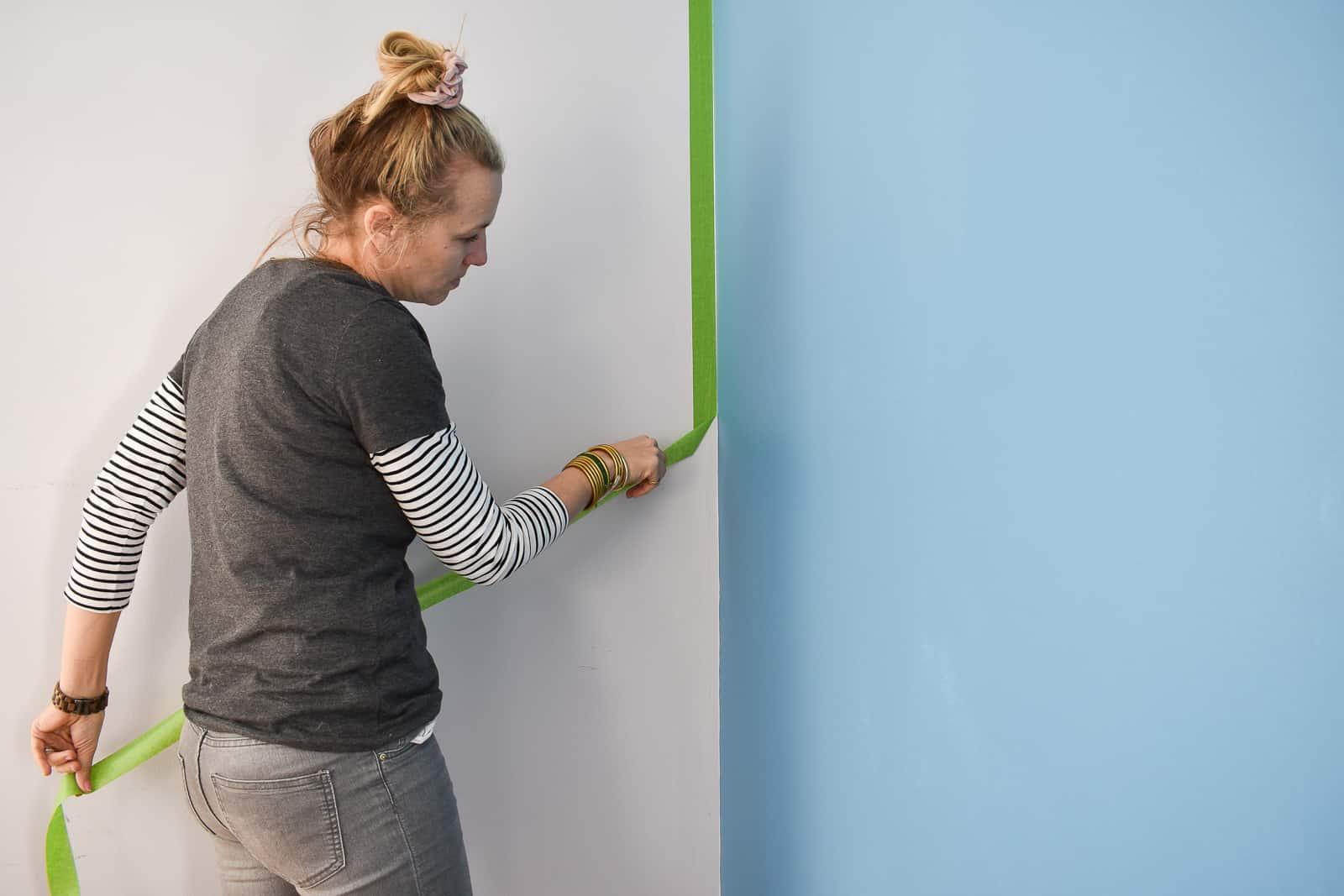 crisp paint line with frogtape