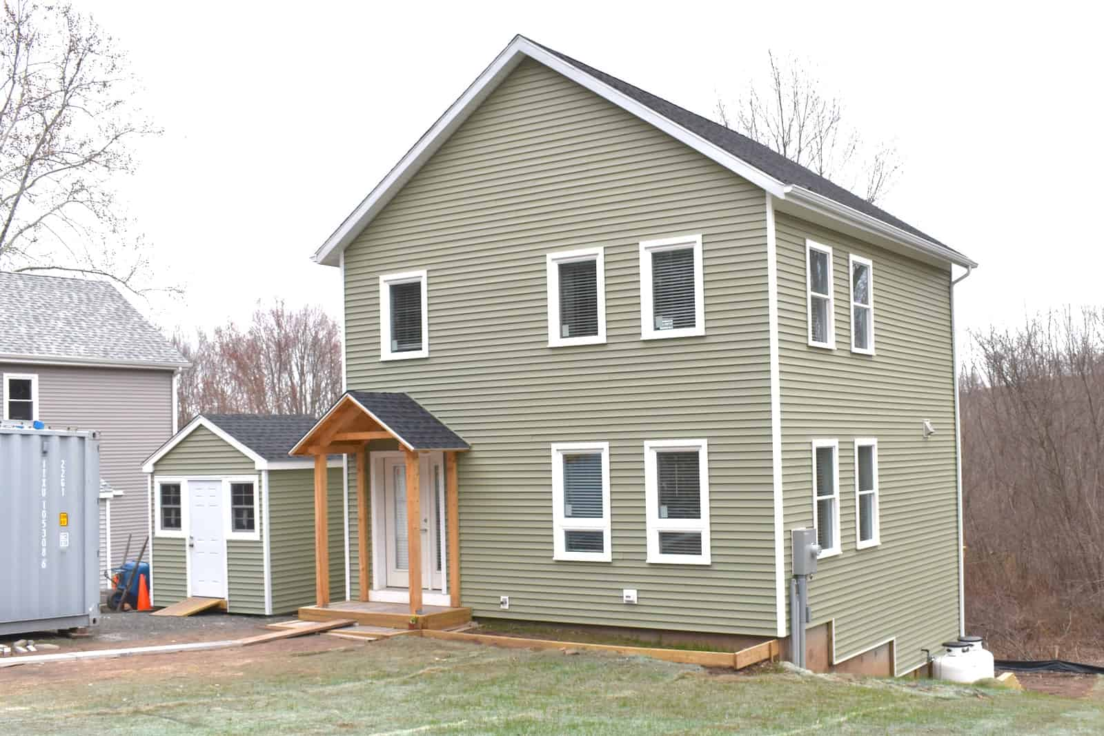 exterior of habitat house
