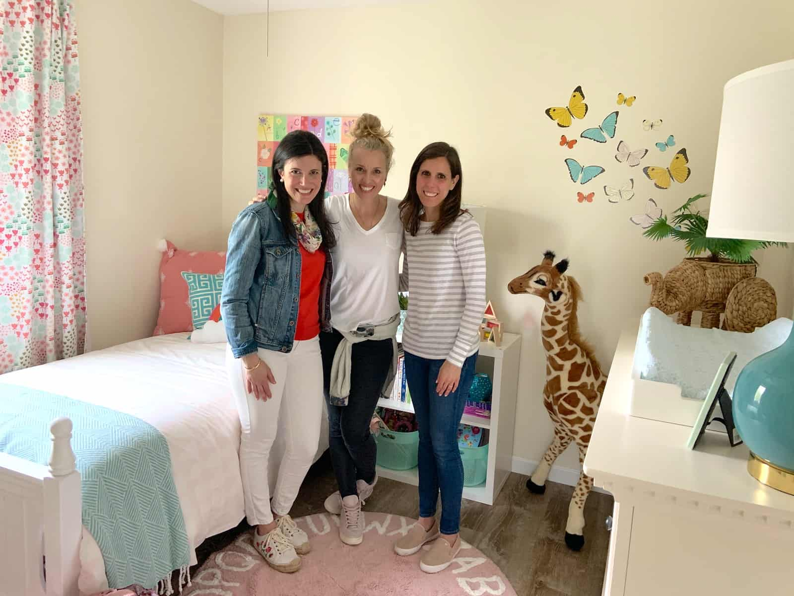 team who worked on girls room