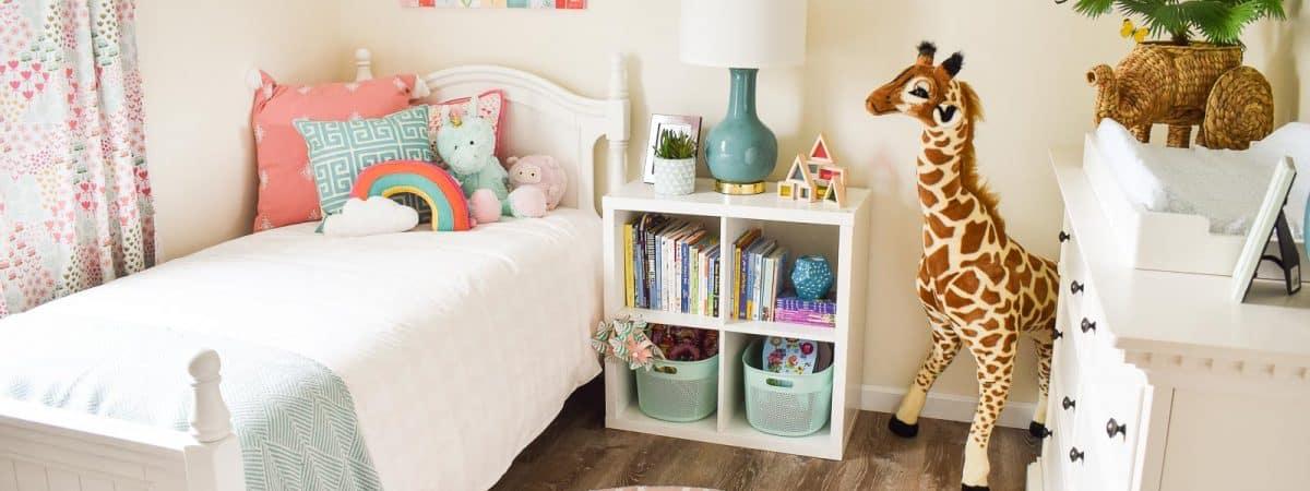 Little Girls Bedroom Design for Habitat For Humanity