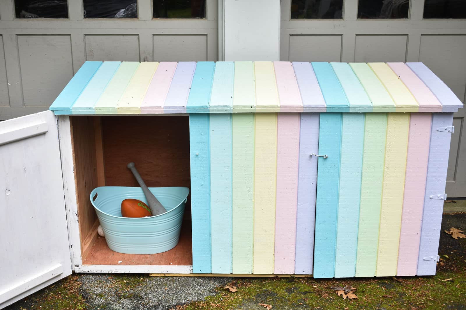 outdoor shed for toy storage