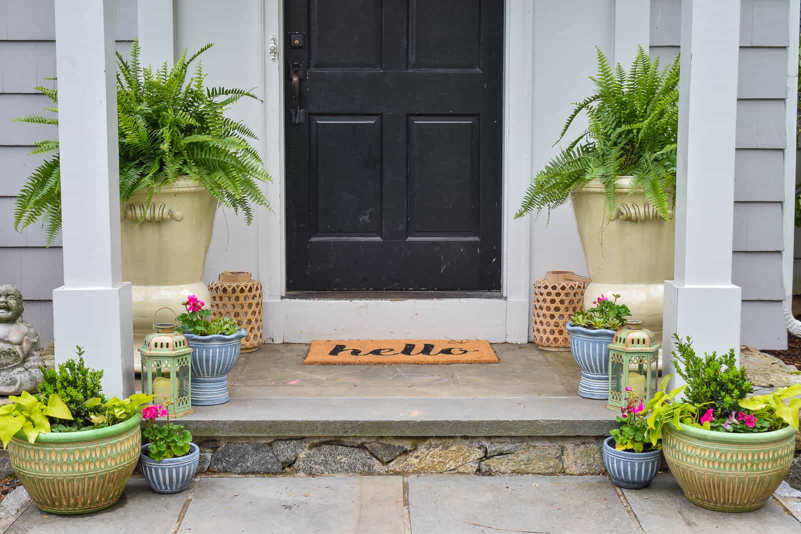 green spring front entry