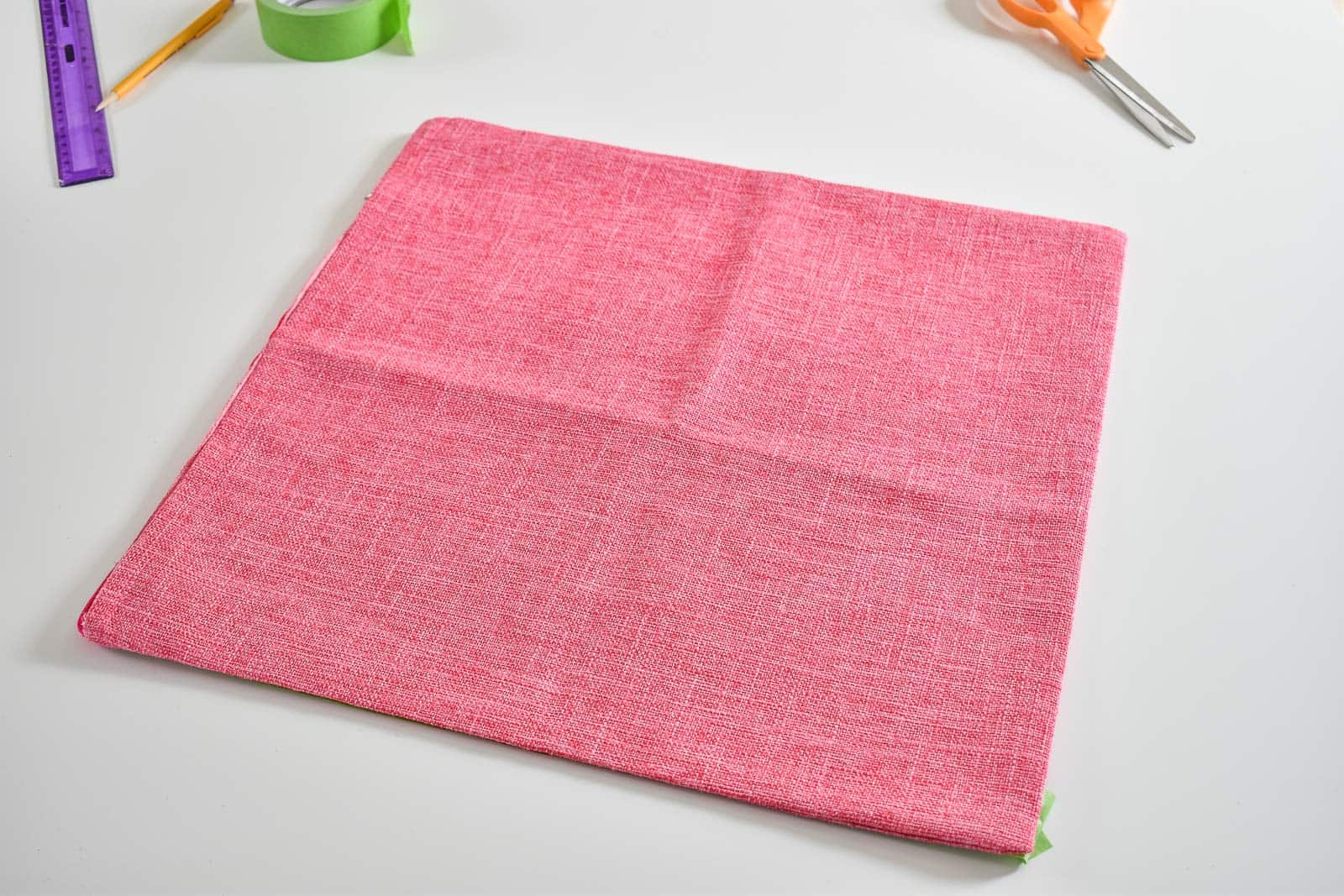 plain pink Amazon pillow