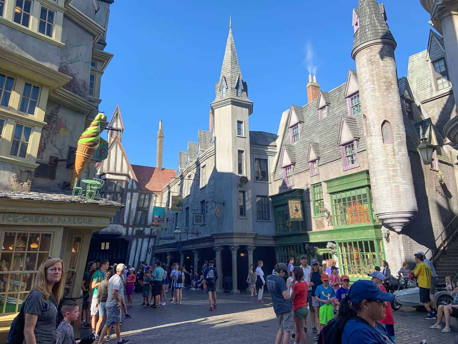performances at harry potter world