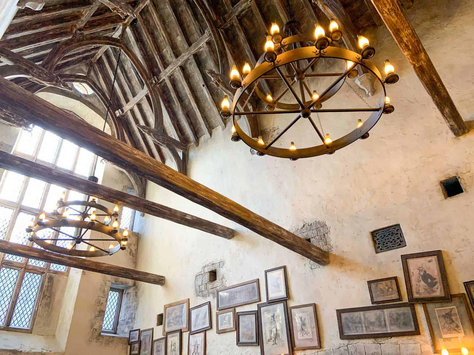 leaky cauldron at harry potter world