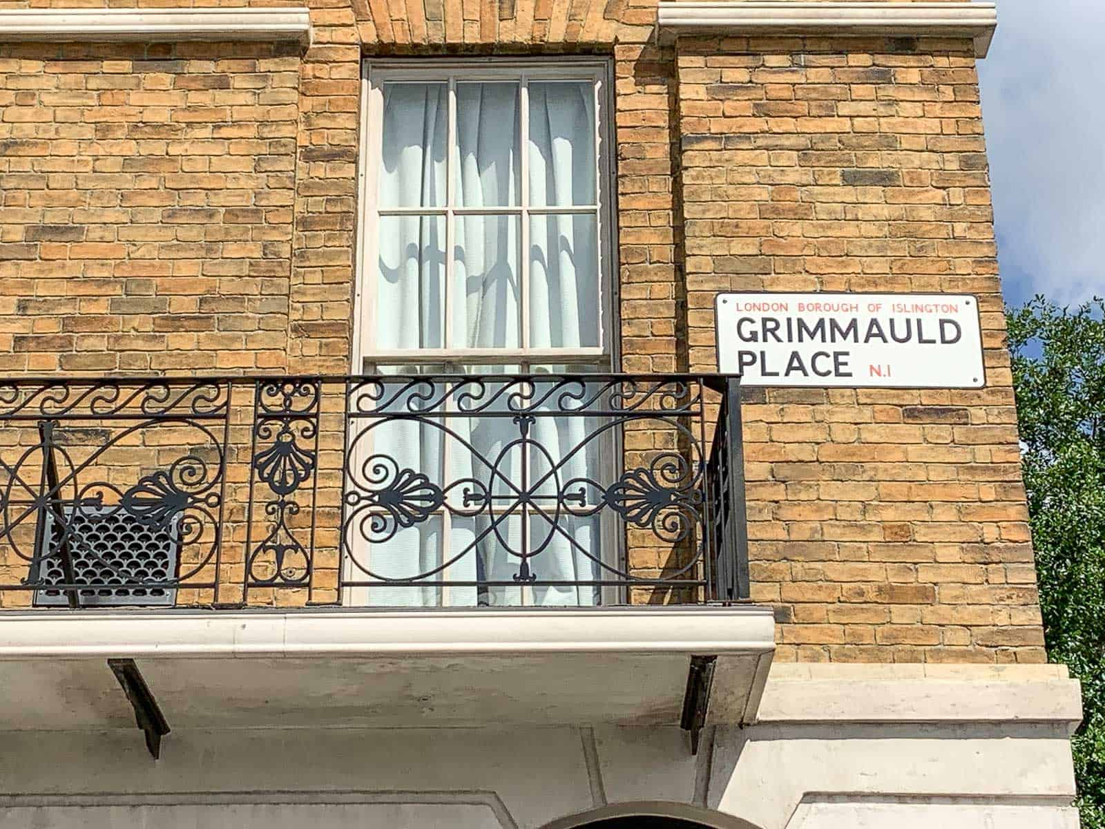 grimmauld place universal studios