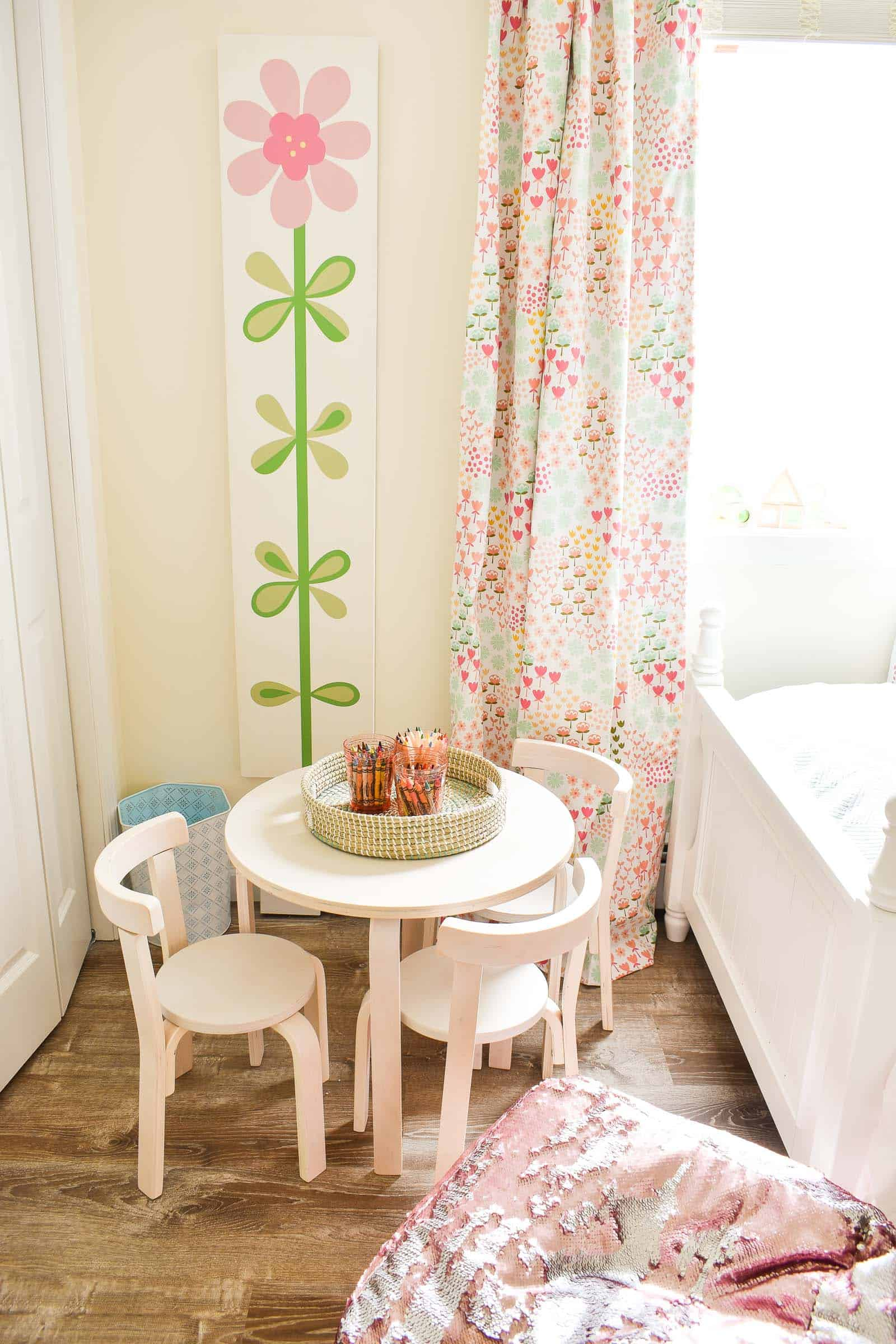 play table for little girls room
