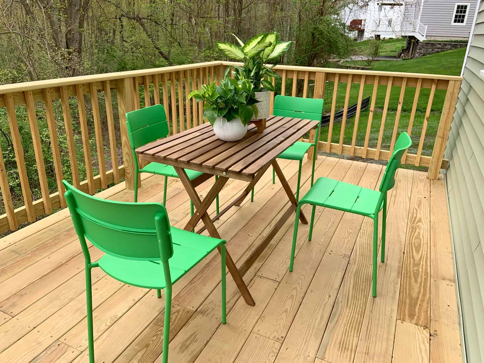 outdoor dining set for habitat