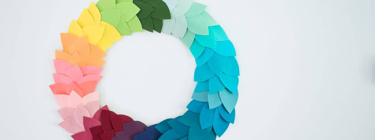 Colorful DIY Fall Wreath