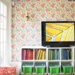 screen saver in colorful playroom