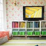 playroom in rental home