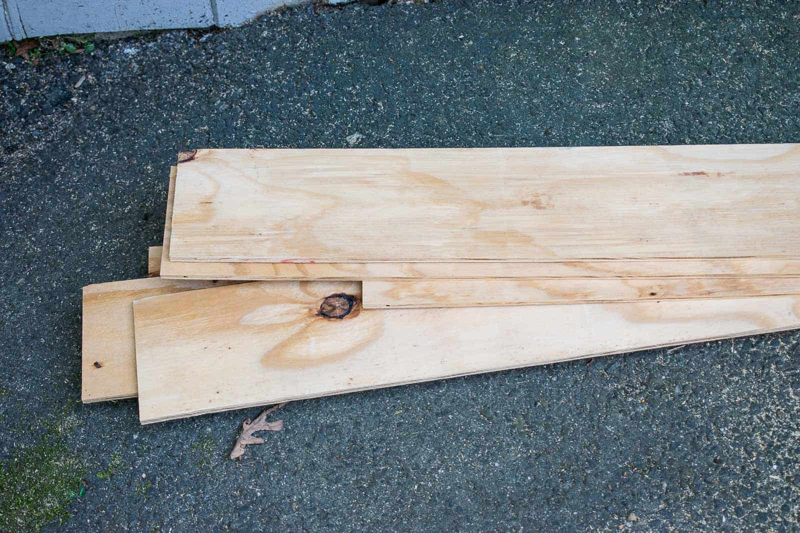 cut plywood to size