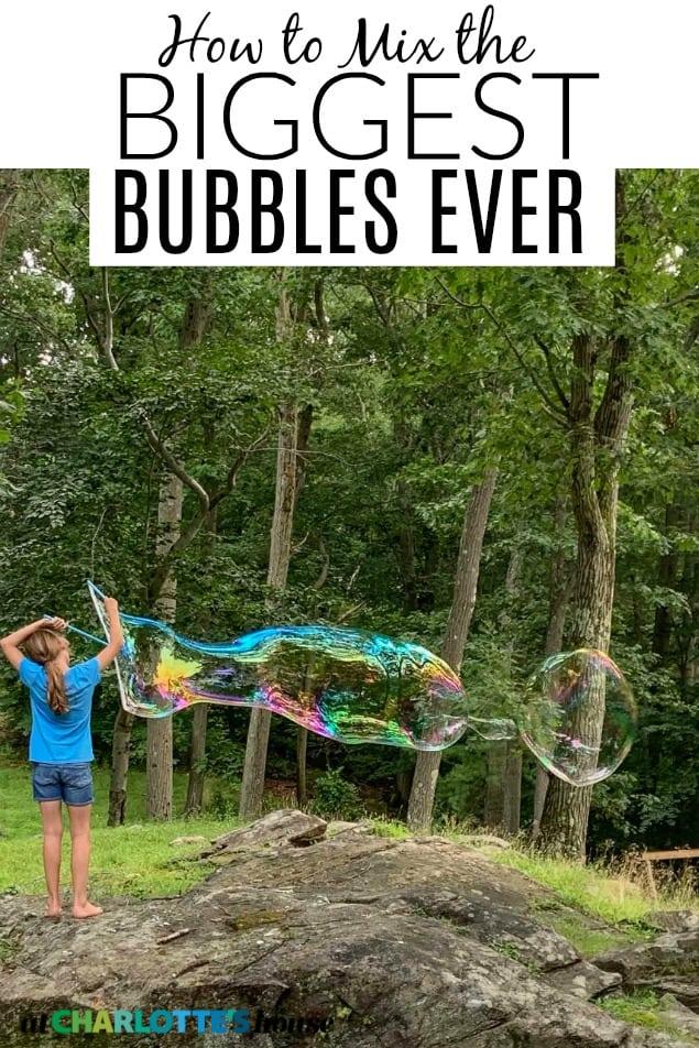 backyard bubble mix