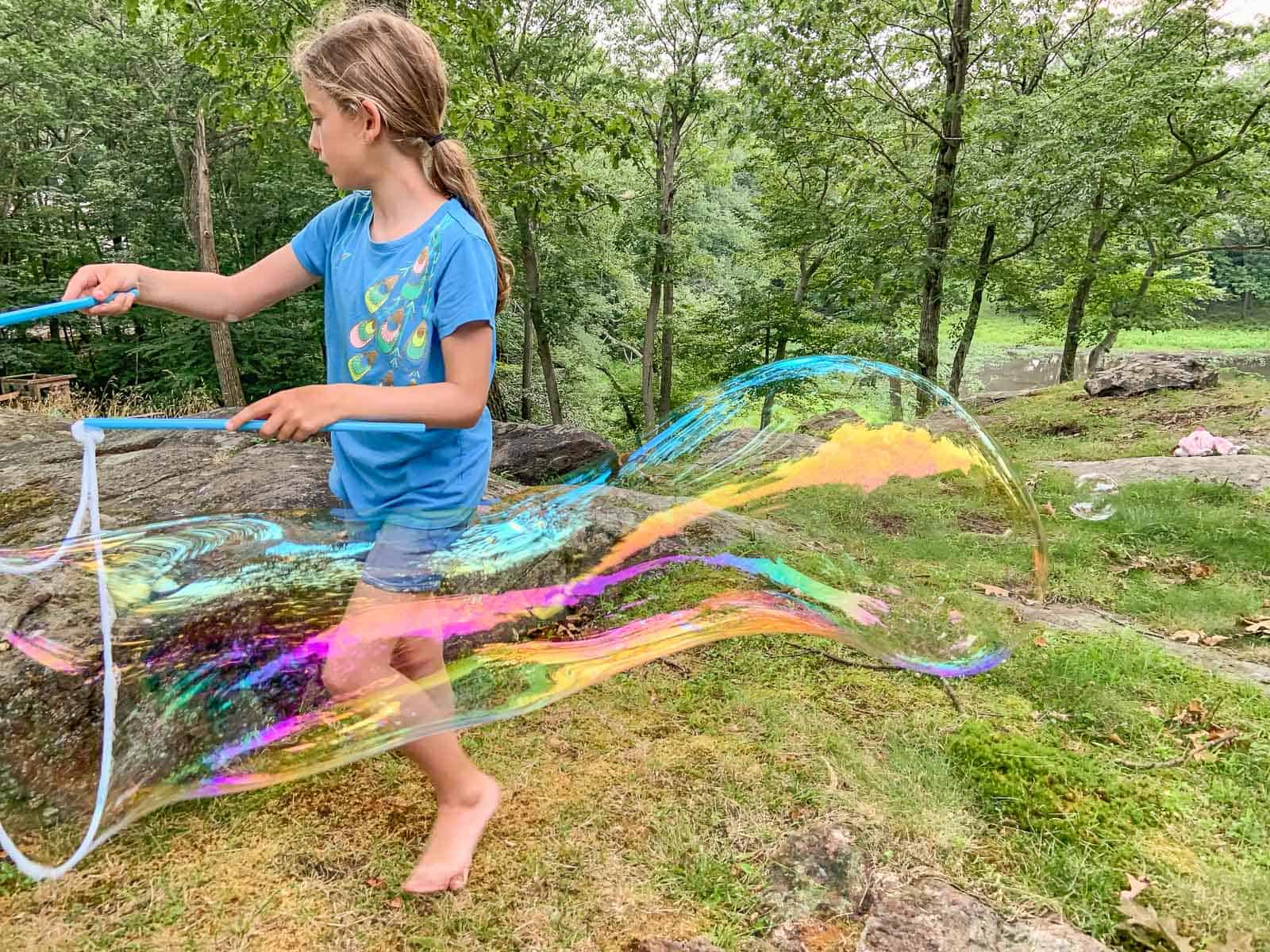 giant backyard bubbles
