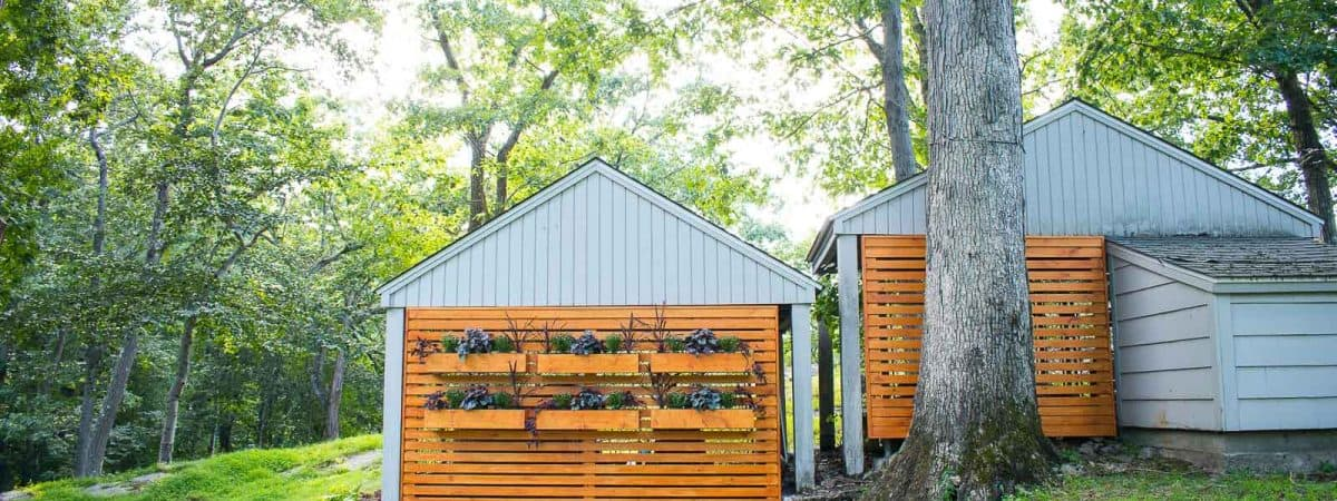 How to Hide an Ugly Chain Link Fence