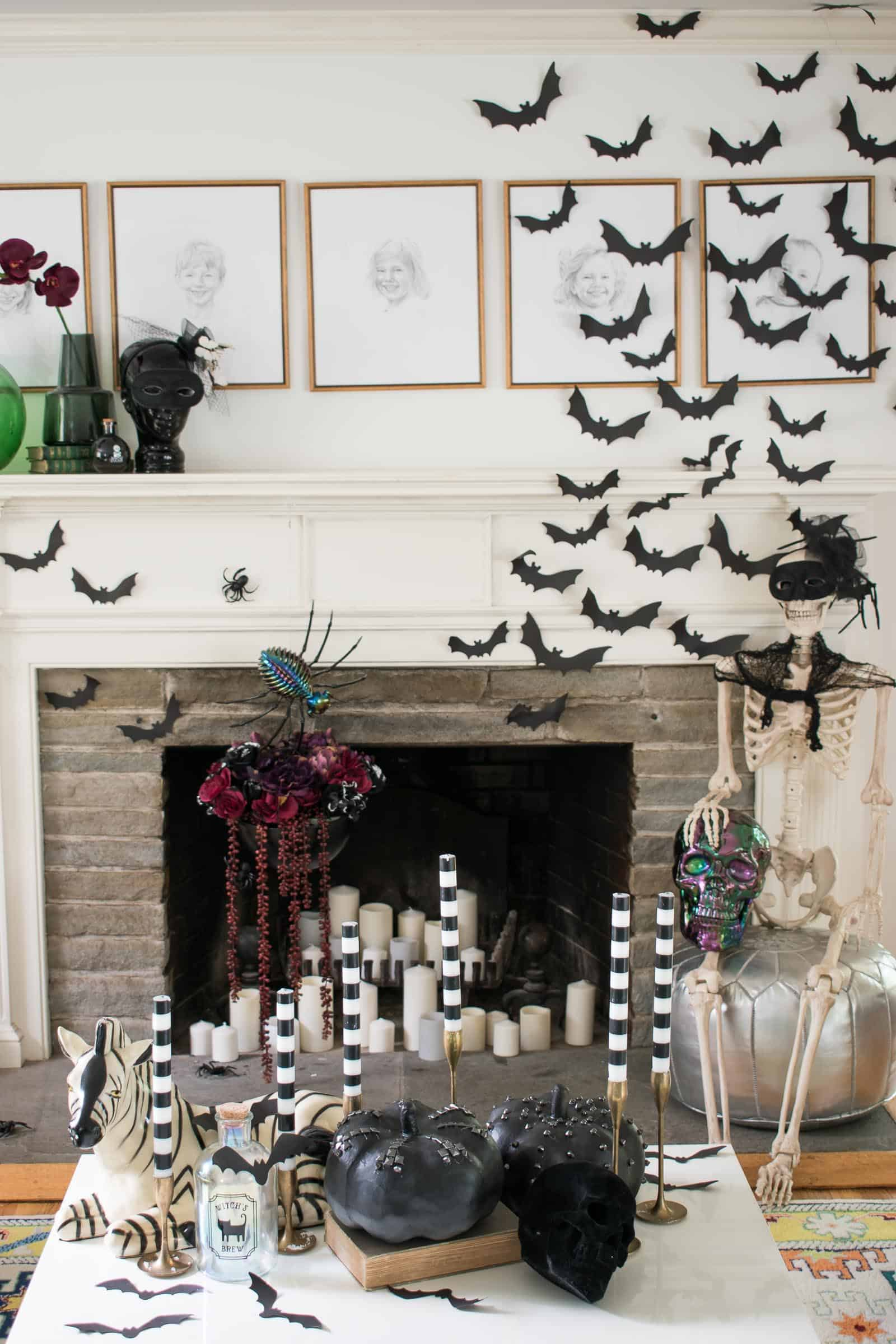 coffee table decor for halloween