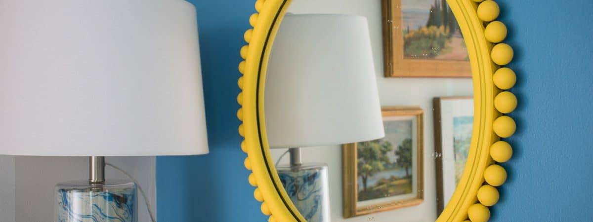Flea Market Mirror Makeover