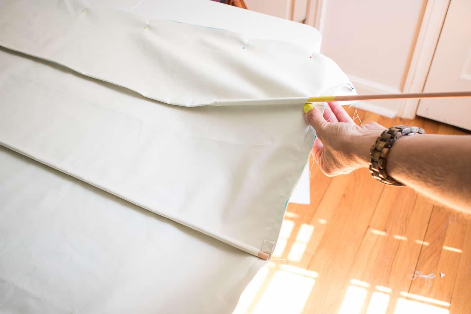 insert dowels into dowel pockets