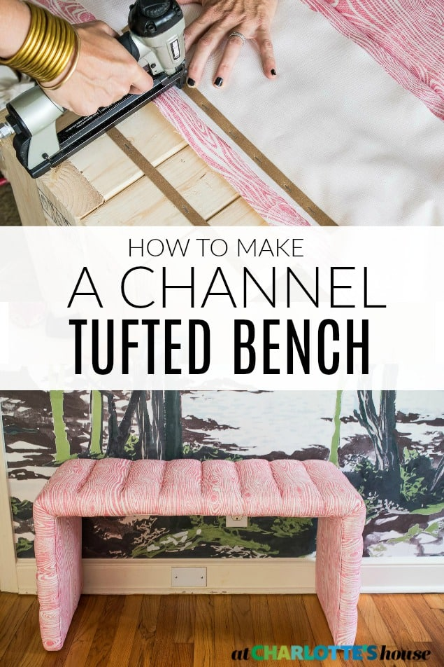 tufted bench tutorial