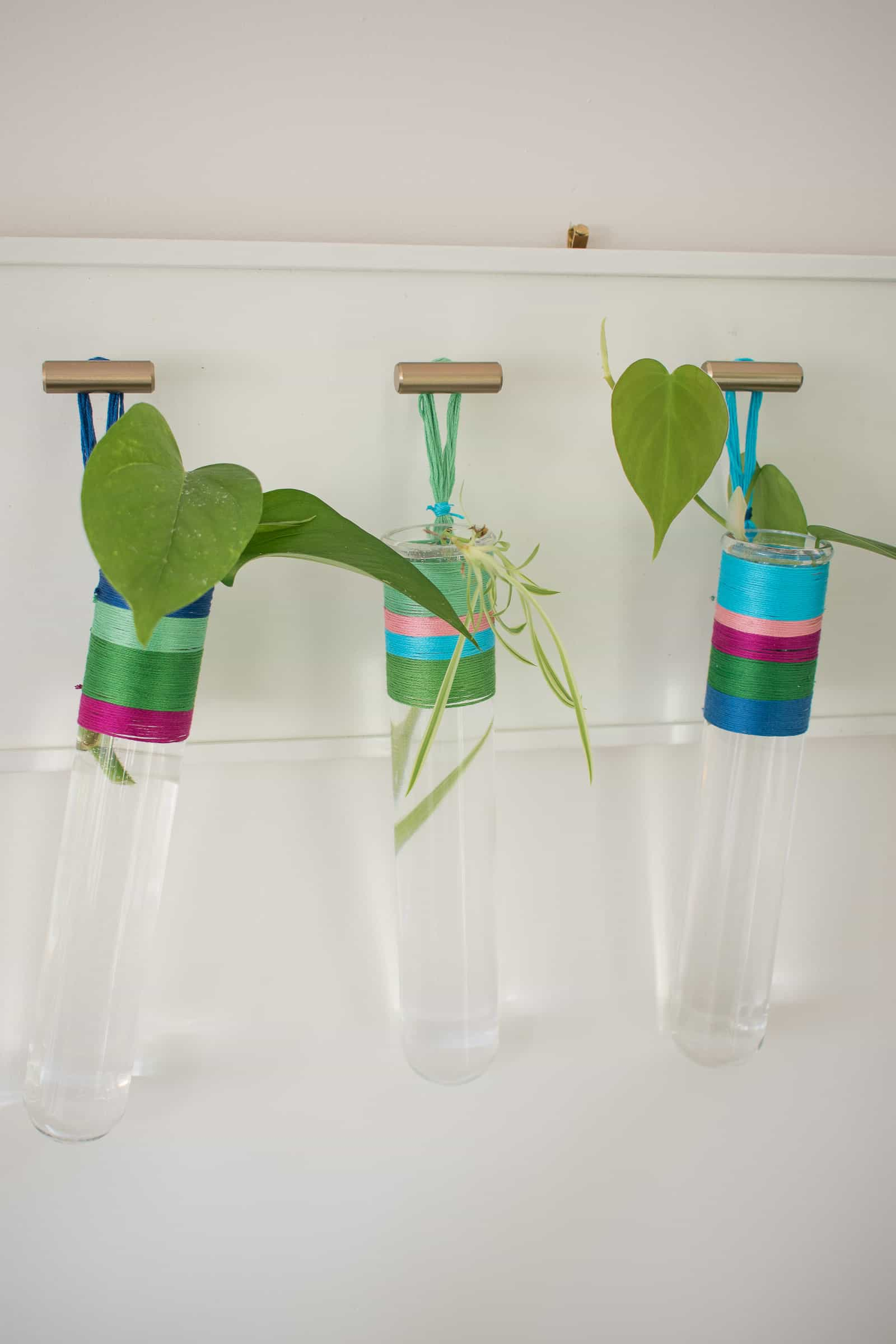 hanging propagation tubes