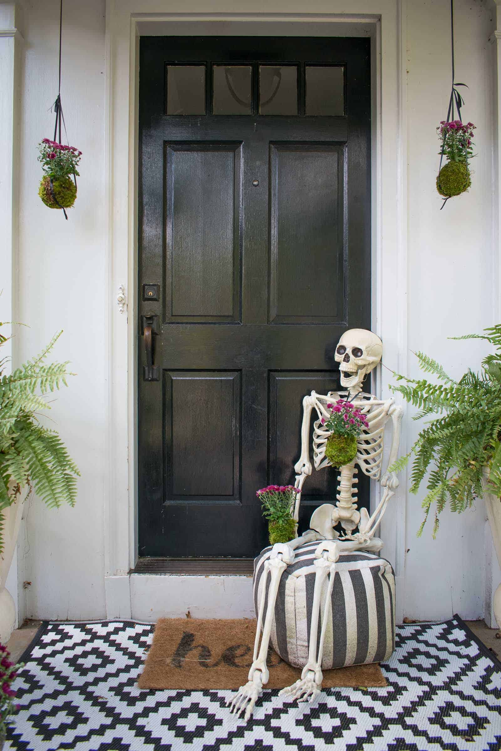 skeleton decorations for fall