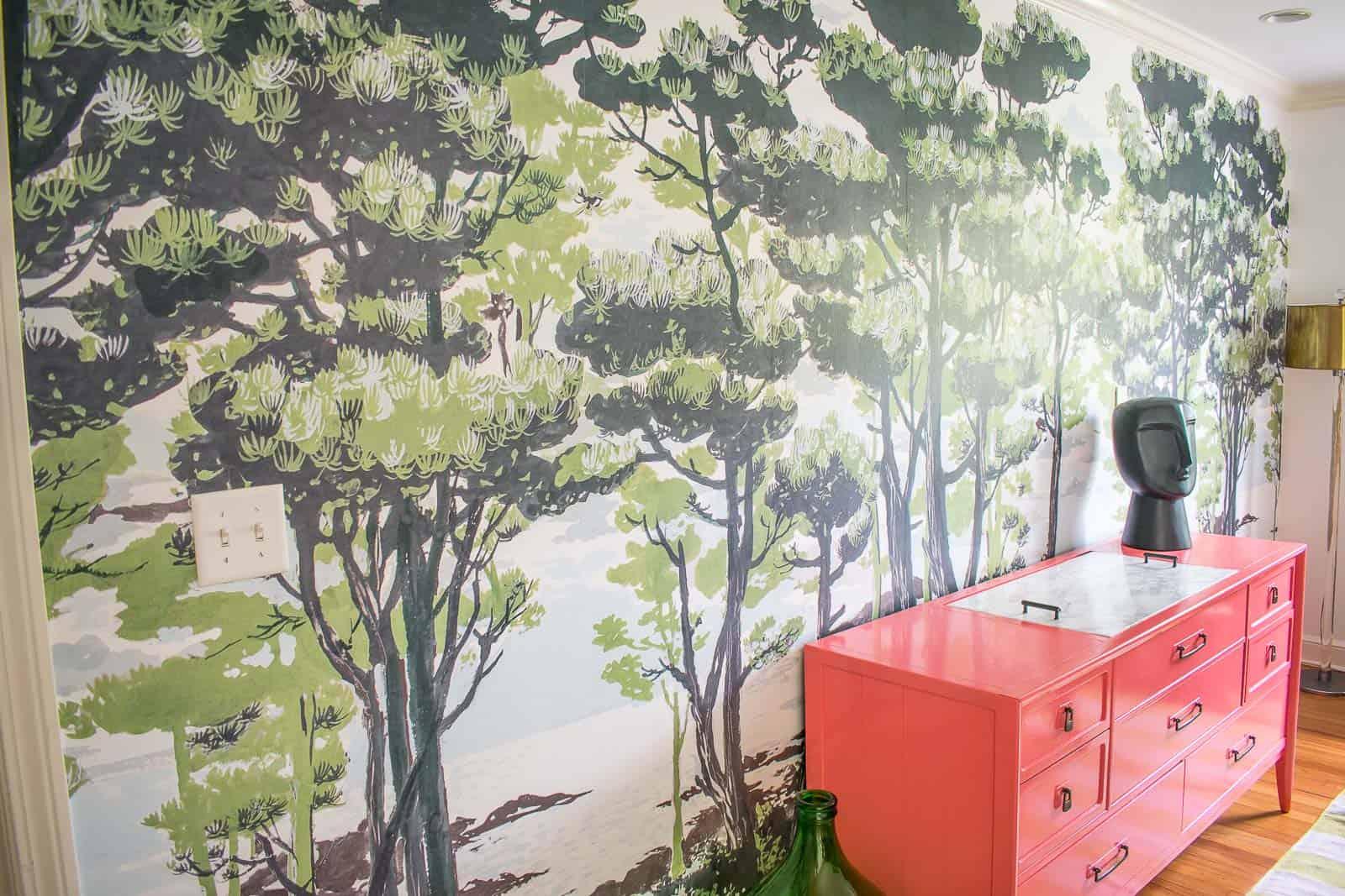 rebel walls enchanted forest mural