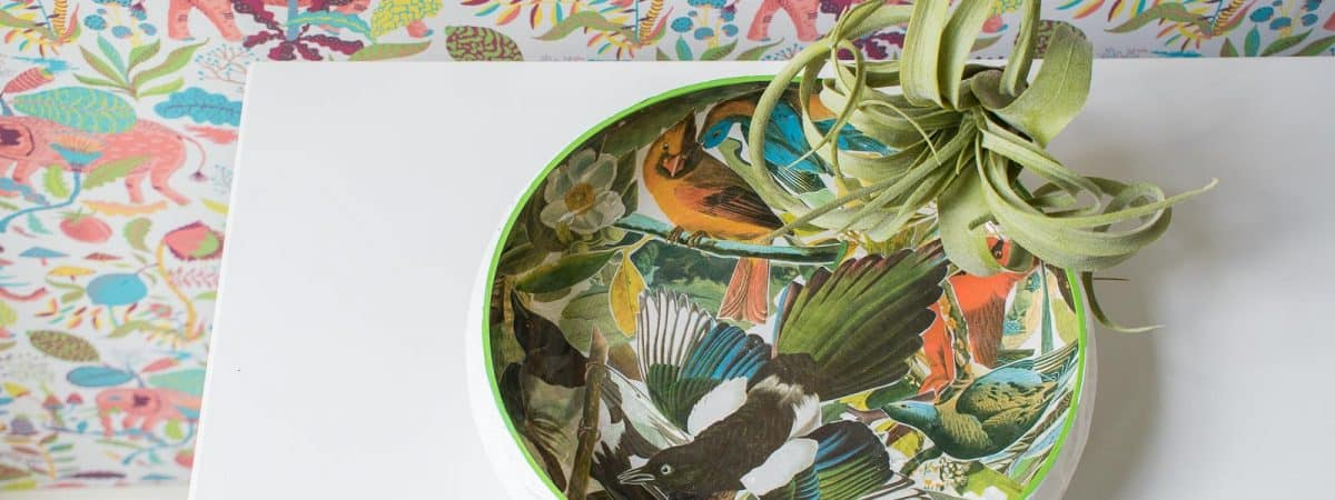 How to Decoupage a Glass Bowl